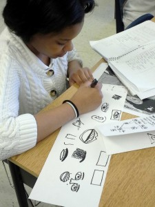 Spanish students at Clissold practiced new language skills by created visual family trees